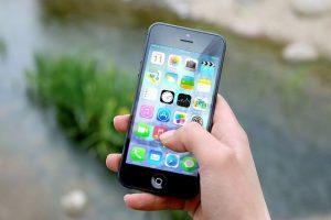 Hemsida anpassad för mobilen