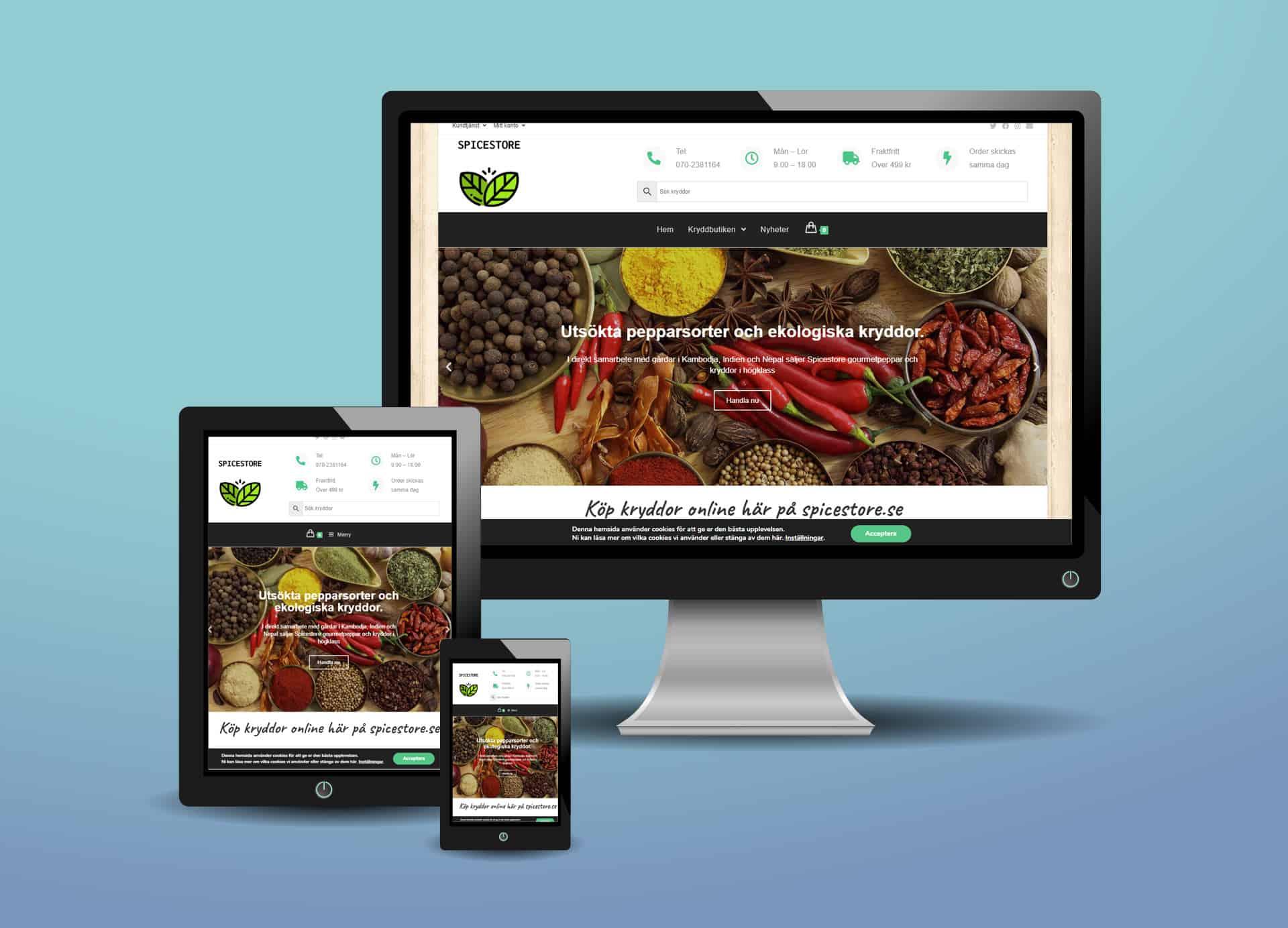 webshop till spicestore
